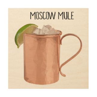 De Moscú de la mula del cobre de la taza arte