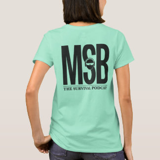 De MSB parte posterior por completo - mujeres Camiseta