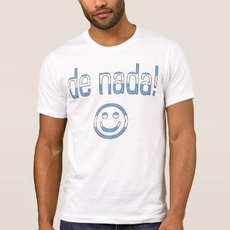 ¡De Nada! Colores de la bandera de la Argentina Camisetas