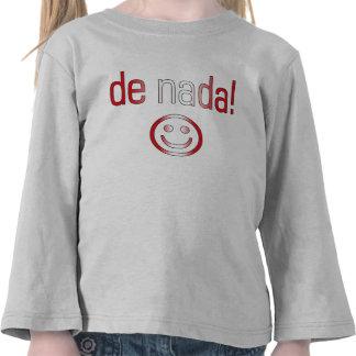 ¡De Nada! Colores de la bandera de Perú Camiseta