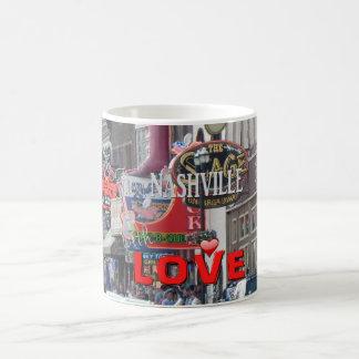 De Nashville con amor -- taza de café