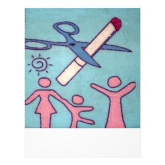 De no fumadores folleto 21,6 x 28 cm