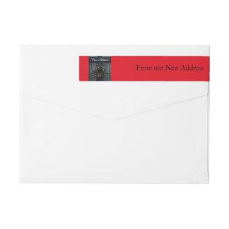 De nuestra nueva guirnalda del navidad de la etiquetas postales