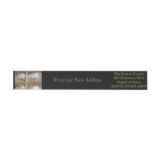 De nuestros nuevos ornamentos de la dirección etiquetas postales