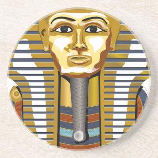 De oro-máscara-Tutanchamun Posavasos De Arenisca