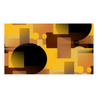 De oro tarjetas de visita