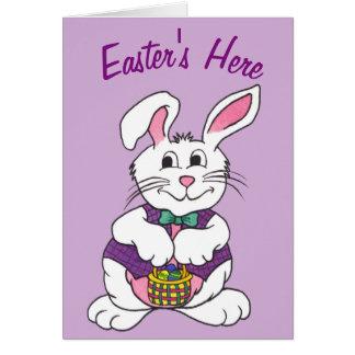 De Pascua tarjeta de felicitación aquí -