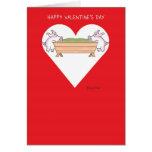 De PIGGING tarjetas del día de San Valentín HACIA