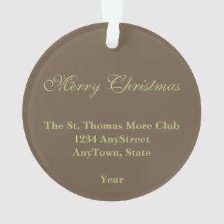 De St Thomas acrílico circular más (SAU 026)