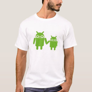 De tal palo tal astilla camiseta androide