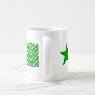 "De ""taza de la bandera Espero del La"" del Taza De Café"