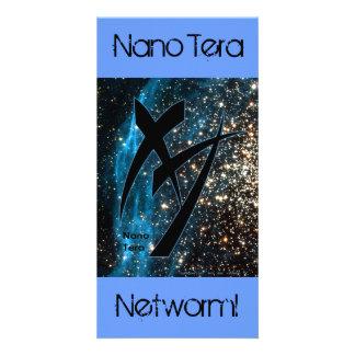 DE Tera nano 001 Tarjetas Fotográficas Personalizadas