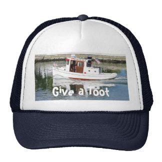 Dé un gorra del barco del tirón del toque de bocin