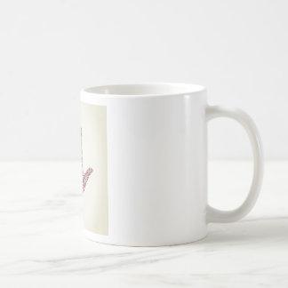 Dé un labio taza de café
