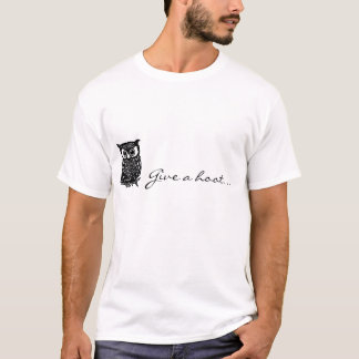 ¡Dé un pitido! Camiseta
