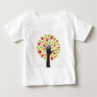 Dé un tree2 camiseta de bebé