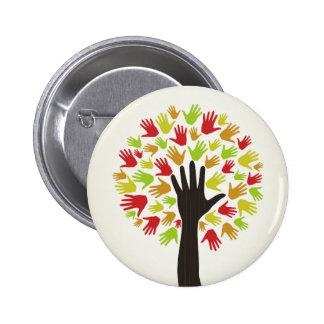 Dé un tree2 chapa redonda de 5 cm