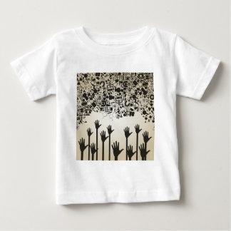 Dé una ciencia camiseta de bebé
