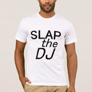 Dé una palmada a DJ Camiseta