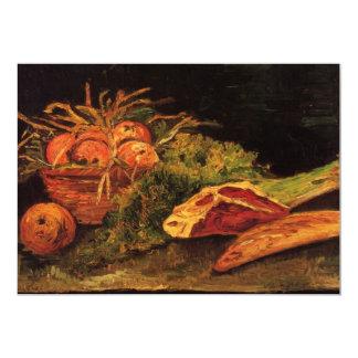 De Van Gogh de las manzanas de carne del rollo Invitación 12,7 X 17,8 Cm