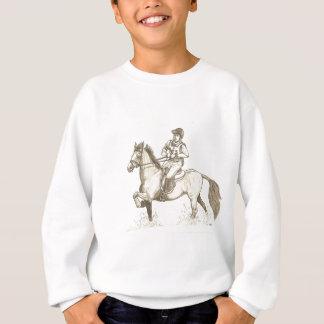 DÉ VUELTA EN el arte del caballo de Eventing del Sudadera