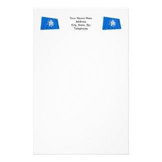 de Zavala Flag de Tejas Papeleria