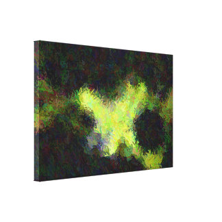 """""""Debajo arte abstracto del agua"""" en lona"""