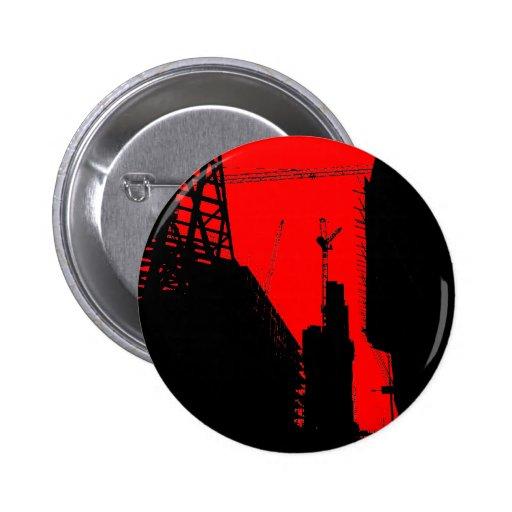 Debajo de Contruction - rojo Pin