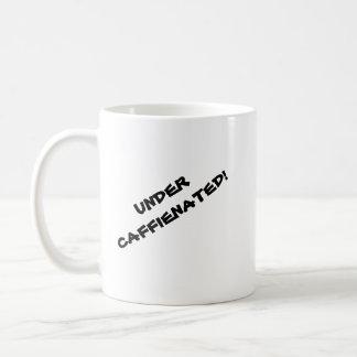 Debajo de la taza de Caffienated