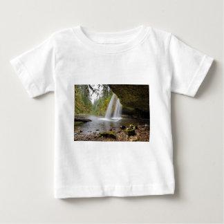 Debajo de mota superior la cala cae en otoño camiseta de bebé