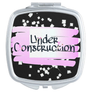 Debajo del espejo del acuerdo de la construcción espejo maquillaje