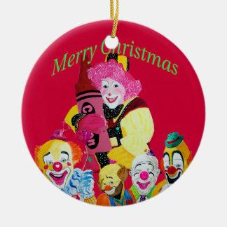Debbie que el navidad del payaso adorna ornamento para arbol de navidad