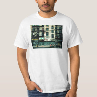 Decaimiento en Canal Street, Chinatown Camisas