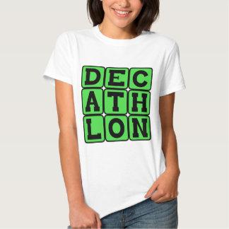 Decathlon, deportes de la pista camisas