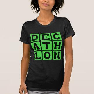 Decathlon, deportes de la pista camisetas