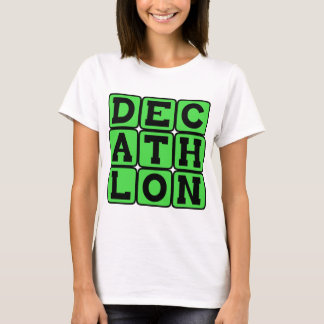 Decathlon, deportes de la pista camiseta