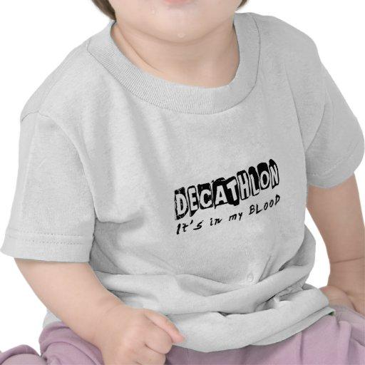 Decathlon está en mi sangre camisetas