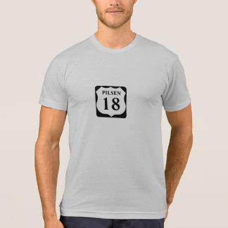 décimo octava camisa de Pilsen Chicago de la calle