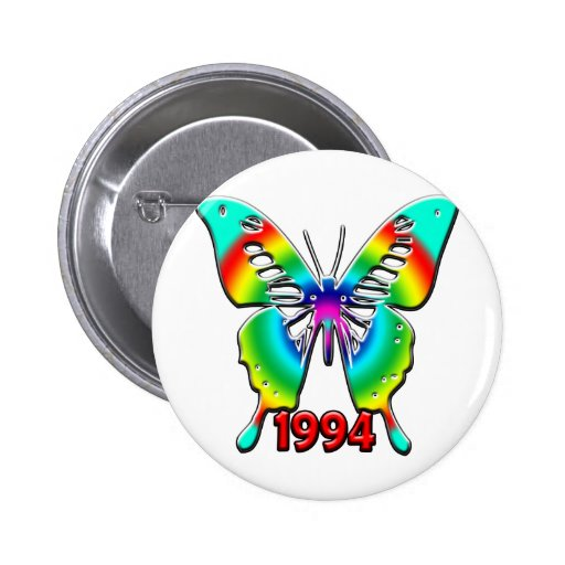 décimo octavo Birthday, 1994 Pins
