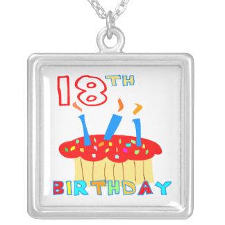 décimo octavo Collar del cumpleaños