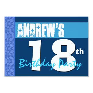 décimo octavo Cumpleaños adolescente moderno del Anuncio