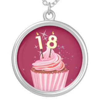décimo octavo cumpleaños - magdalena rosada colgante