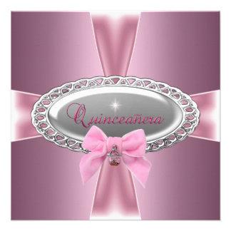 Décimo quinto arco del rosa del satén del cumpleañ comunicado