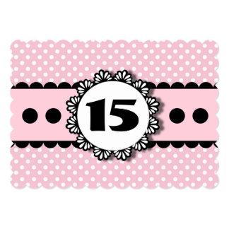 décimo quinto Conchas de peregrino A03 de los Invitación 12,7 X 17,8 Cm
