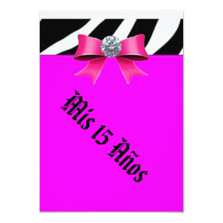décimo quinto Cumpleaños Invitación 12,7 X 17,8 Cm