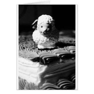 décimosexto Cumpleaños de las ovejas Tarjeta