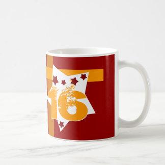 décimosexto Cumpleaños o CUAESQUIERA estrellas V09 Taza Clásica