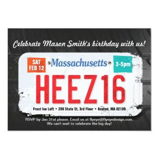 Décimosexto invitación de Massachusetts del