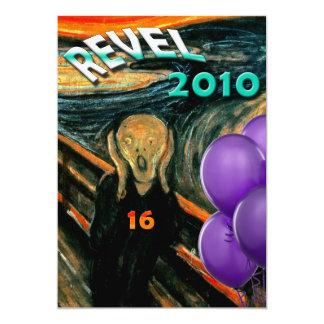 Décimosexto invitaciones divertidas de la fiesta invitación 12,7 x 17,8 cm