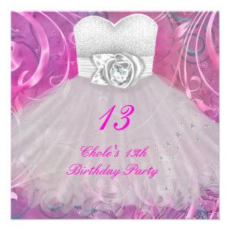 décimotercero Chicas marchosas 13 del cumpleaños a Comunicado